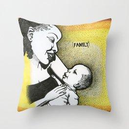 (family) Throw Pillow