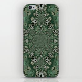 The Green Unsharp Mandala 8 iPhone Skin
