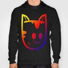 Big Ol' Cat Logo: With Moar Rainbows! Hoody