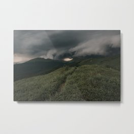 A Storm is Coming - Landscape and Nature Photography Metal Print