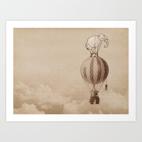 jumbo Art Print
