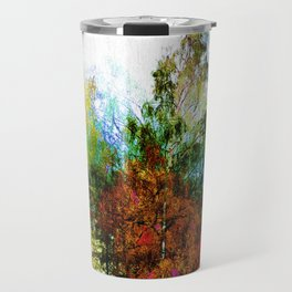 Colorful Birches Travel Mug