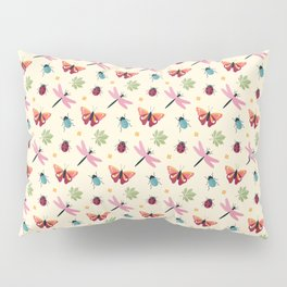 Insects all around Pillow Sham