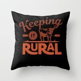Keeping it Rural - Farm Style Throw Pillow