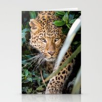 jaguar Stationery Cards featuring JAGUAR by Ylenia Pizzetti