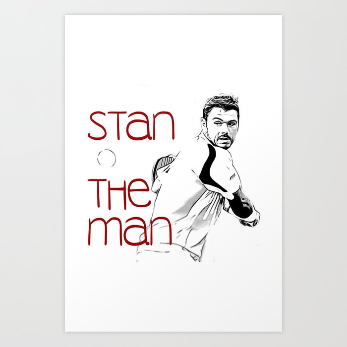 Stan the Man Kunstdrucke