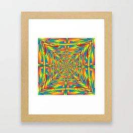 Pattrn-7.1 Framed Art Print