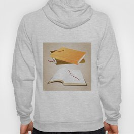 Books with background Hoody