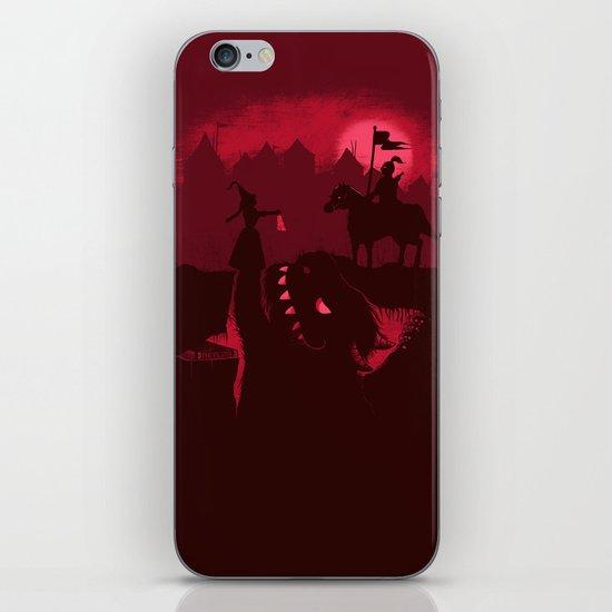 Farewell Brave Knight iPhone & iPod Skin