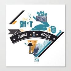 L. Canvas Print