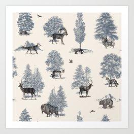 Where They Belong - Winter Art Print