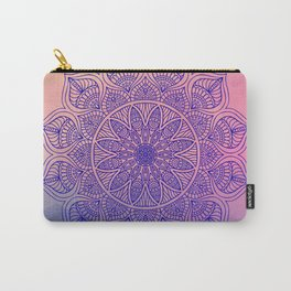 Mild Mandala Carry-All Pouch