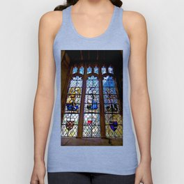 Stained Glass Unisex Tank Top