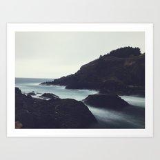 Oregon Coast Ocean Art Print