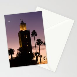 Koutoubia Moon - Marrakech Stationery Cards