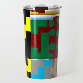 Pieces of fabrics Travel Mug