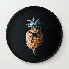 Mini Pineapple Wall Clock