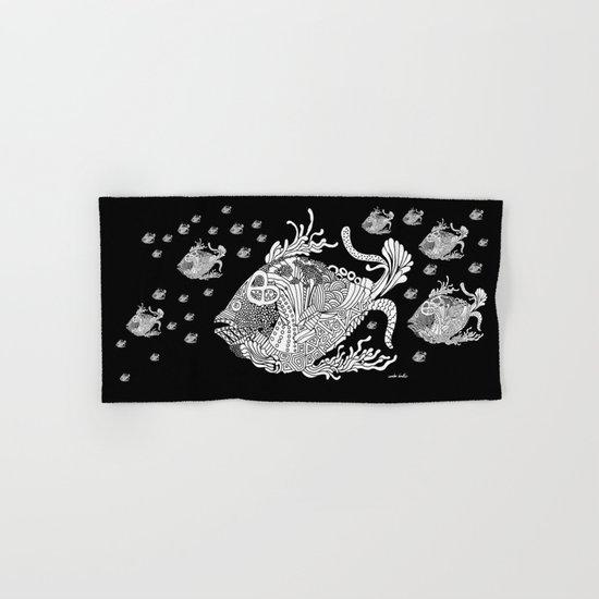Dragon Fish Hand & Bath Towel