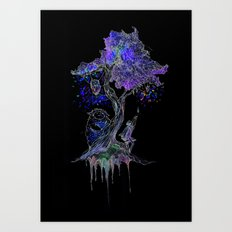 Tree of Gem  Art Print