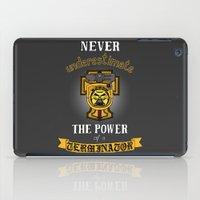warhammer iPad Cases featuring Terminator 1, Warhammer 40K by ZsaMo Design