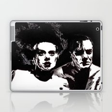 Dr Frankenstein and the Bride of the Monster Laptop & iPad Skin