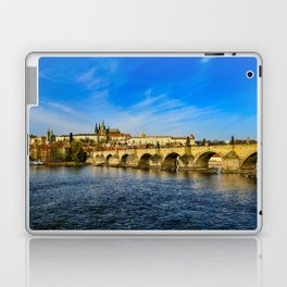 Charles Bridge in Prague Laptop & iPad Skin