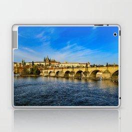 Charles Bridge in Prague Laptop & iPad Skin