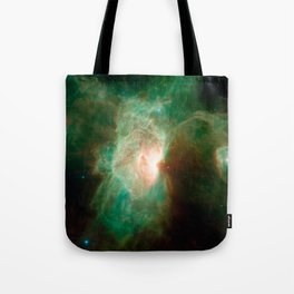 the horse becomes the phoenix | space #04 Tote Bag