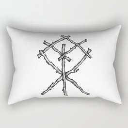 Rune Binding Rectangular Pillow