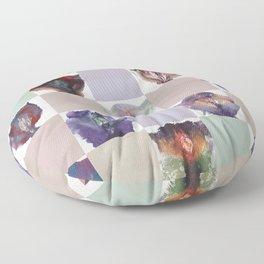 Vagina Portrait Quilt Floor Pillow