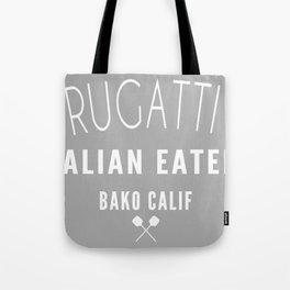 FRUGATTI'S CALIF 2 Tote Bag