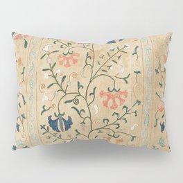 Uzbekistan Suzani Nim Embroidery Print Pillow Sham