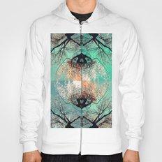 autumn tree - vessel pattern 2 Hoody