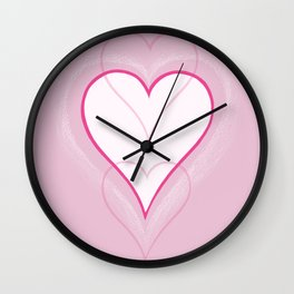 Three Hearts Wall Clock