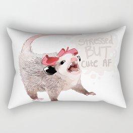 Cute AF Rectangular Pillow