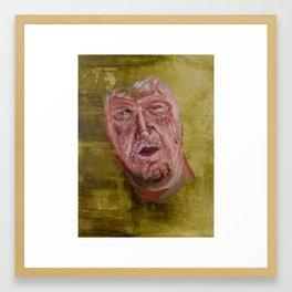Wavering Framed Art Print