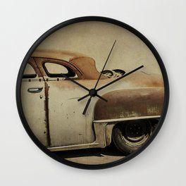 Rusty Chrysler De Soto Wall Clock