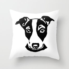 CHRISTMAS GIFTS OF JACK RUSSELL TERRIER GIFTS FROM MONOFACES IN 2020 Throw Pillow
