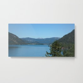 Achen Lake Metal Print