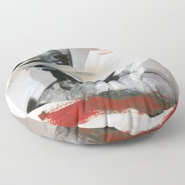 Untitled (Painted Composition 4) Floor Pillow