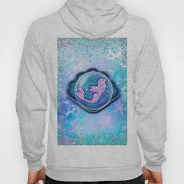 Purple Sparkle Glitter Mermaid Hoody