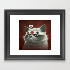 Hai! Framed Art Print
