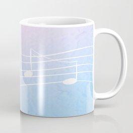 Pastel Notes Coffee Mug