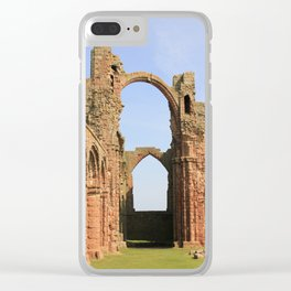 Lindisfarne Clear iPhone Case