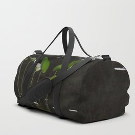 Pickerel Weeds and Lily Pads Duffle Bag