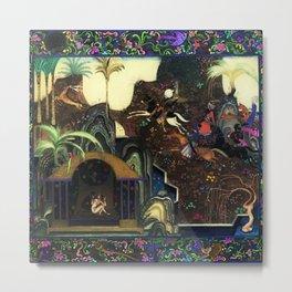 1,001 Nights in the Gardens of Arabia Metal Print