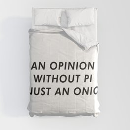 OpiNION Funny Comforters
