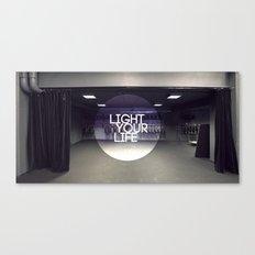 Light Your Life Canvas Print