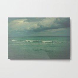 Ocean Brew Metal Print