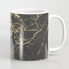Marble Black Gold - Young Forever Coffee Mug